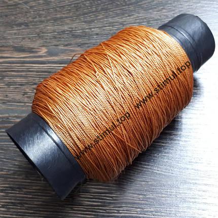 Нить кордовая 375 Текс 300 грамм / капроновая обувная нитка / Дратва кручена, фото 2