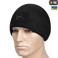 M-Tac шапка Watch Cap флис/сетка Pirate Skull Windblock 380 Black