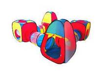 Детская палатка шатер домик лабиринт 250 х 250 см, фото 1