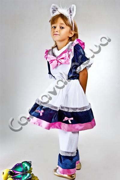 Карнавальный костюм Кошка для девочки
