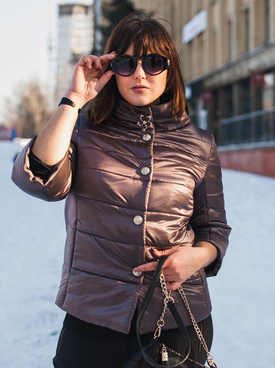 Женская куртка 2019 SIZE+