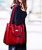 Женская сумка набор Melody Красная, фото 2
