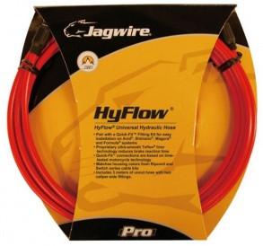 Комплект JAGWIRE Mountain Pro (HYFLOW) HBK403 под гидравлический тормоз (Teflon/Kevlar) - Red