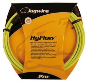 Комплект JAGWIRE Mountain Pro (HYFLOW) HBK406 под гидравлический тормоз (Teflon/Kevlar) - Organic Green