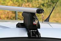Багажник на дах автомобіля Amos Dromader D-1 AERO PLUS, балки 1,3 м / Автобагажник Амос Дромадер Д-1 Aэро Плюс