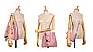 Сумка жіноча в наборі сумка через плече Melody Рожевий, фото 4