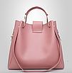Сумка жіноча в наборі сумка через плече Melody Рожевий, фото 6