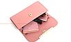 Сумка жіноча в наборі сумка через плече Melody Рожевий, фото 8