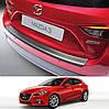 Mazda 3 3/5dr 2013+ пластиковая накладка заднего бампера