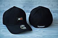 Новые Мужские Брендовые Кепки VIP-Качества 100% Cotton Кепка Tommy Hilfiger Черная Кепка