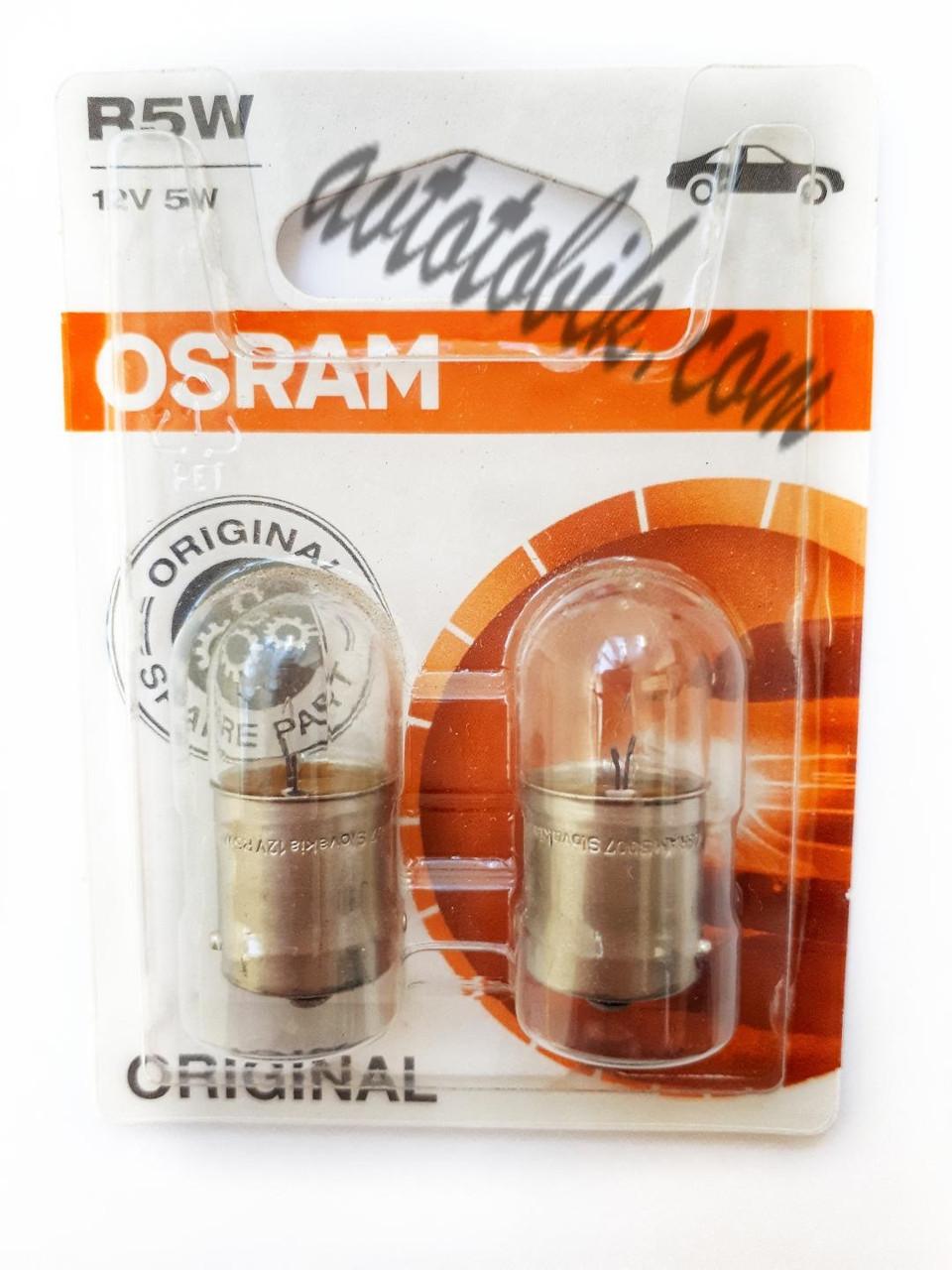 Автомобильная лампочка Osram Original line R5W 5007-02B 12V 5W (1 штука)