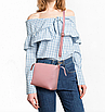 Сумка жіноча в наборі сумка через плече Melody Рожевий, фото 3