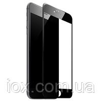 Защитное стекло черное для iphone 6/6s Full Glue
