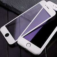 Защитное стекло белое для iphone 6/6s Full Glue