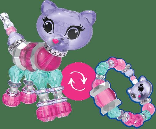 Фигурка браслет Twisty Pets. Игрушка-браслет для девочек Твисти Петс MAGICAL BRACELET