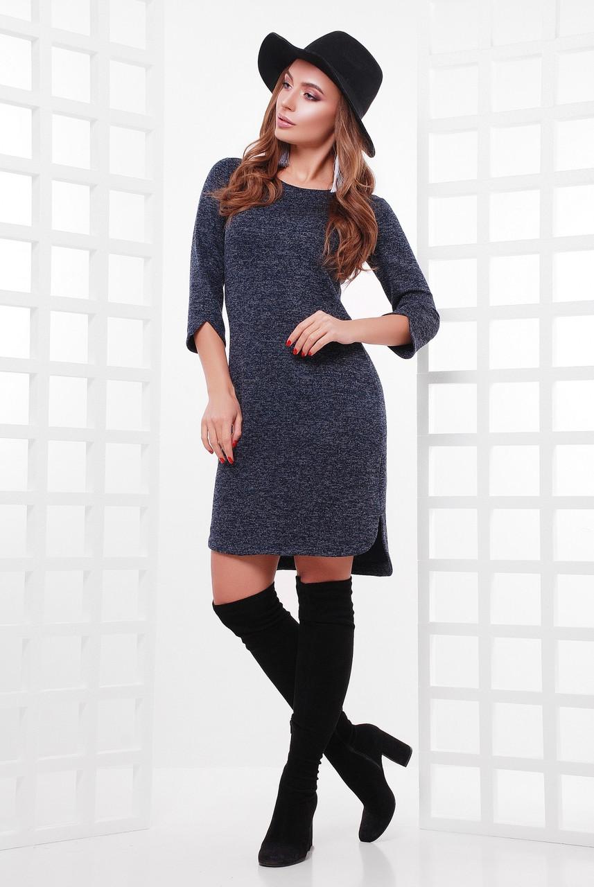Асимметричное женское платье (4 цвета)
