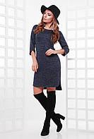 Асимметричное женское платье (4 цвета), фото 1