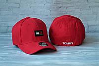 Новые Мужские Брендовые Кепки VIP-Качества 100% Cotton Кепка Tommy Hilfiger Красная Кепка