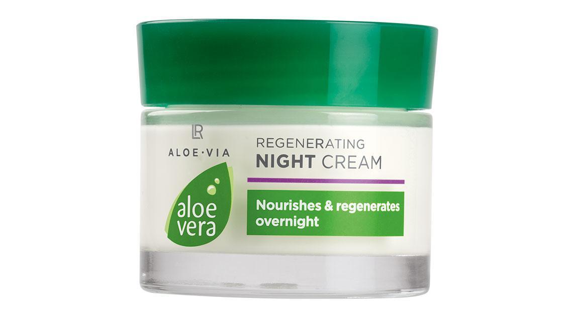 Регенерирующий ночной крем для лицаLR Health & BeautyAloe Via Aloe Vera