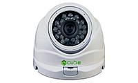 Наружная AHD видеокамера CUBE CU-AVD1020, 1 Мп