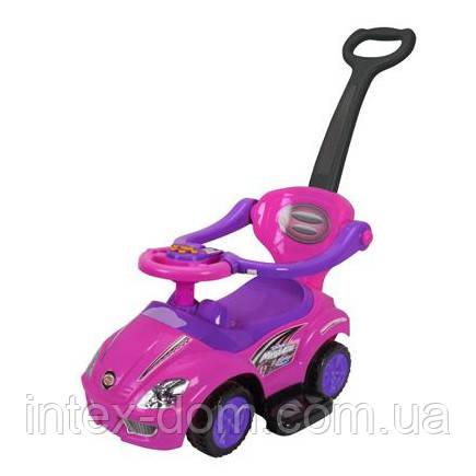 Каталка-толокар Bambi Z 382-9 Розово-фиолетовый