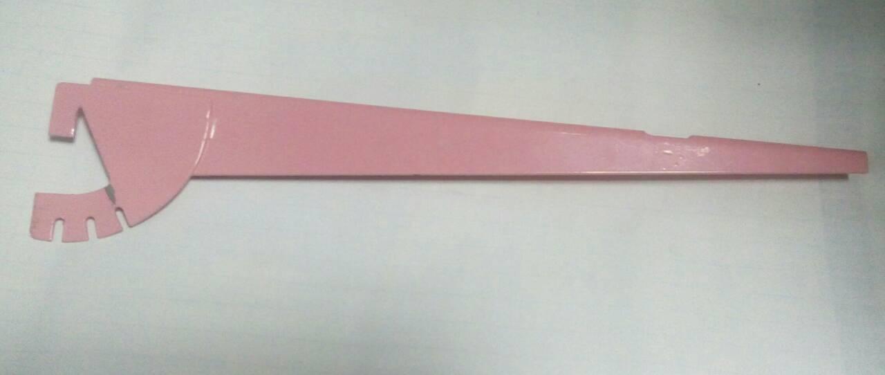 Кронштейн для стеллажной системы Розовый