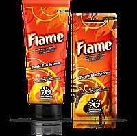"""Крем для загара в солярии """"Flame"""" с нектаром манго, бронзаторами и Tingle эффектом 15 мл."""