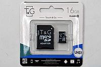 Карта памяти MicroSD TG 16 Gb (Class 10)