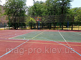 Баскетбольная площадка под ключ 28х15 (16мм), фото 3