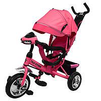 Трехколесный детский велосипед Розовый TILLY STORM музыка и свет