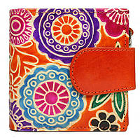 Женский кожаный кошелек SPG-98 Shanti Orange