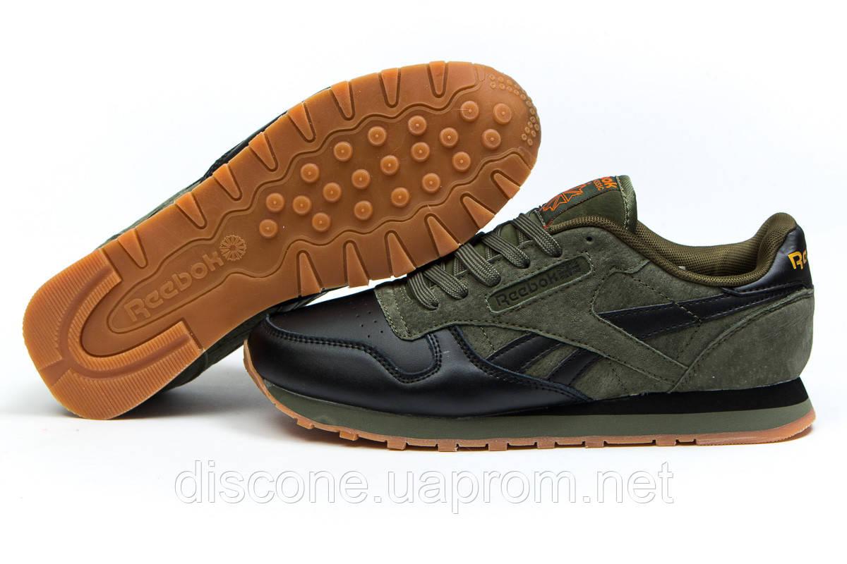 Кроссовки мужские ► Reebok Classic,  зеленые (Код: 14842) ►(нет на складе) П Р О Д А Н О!