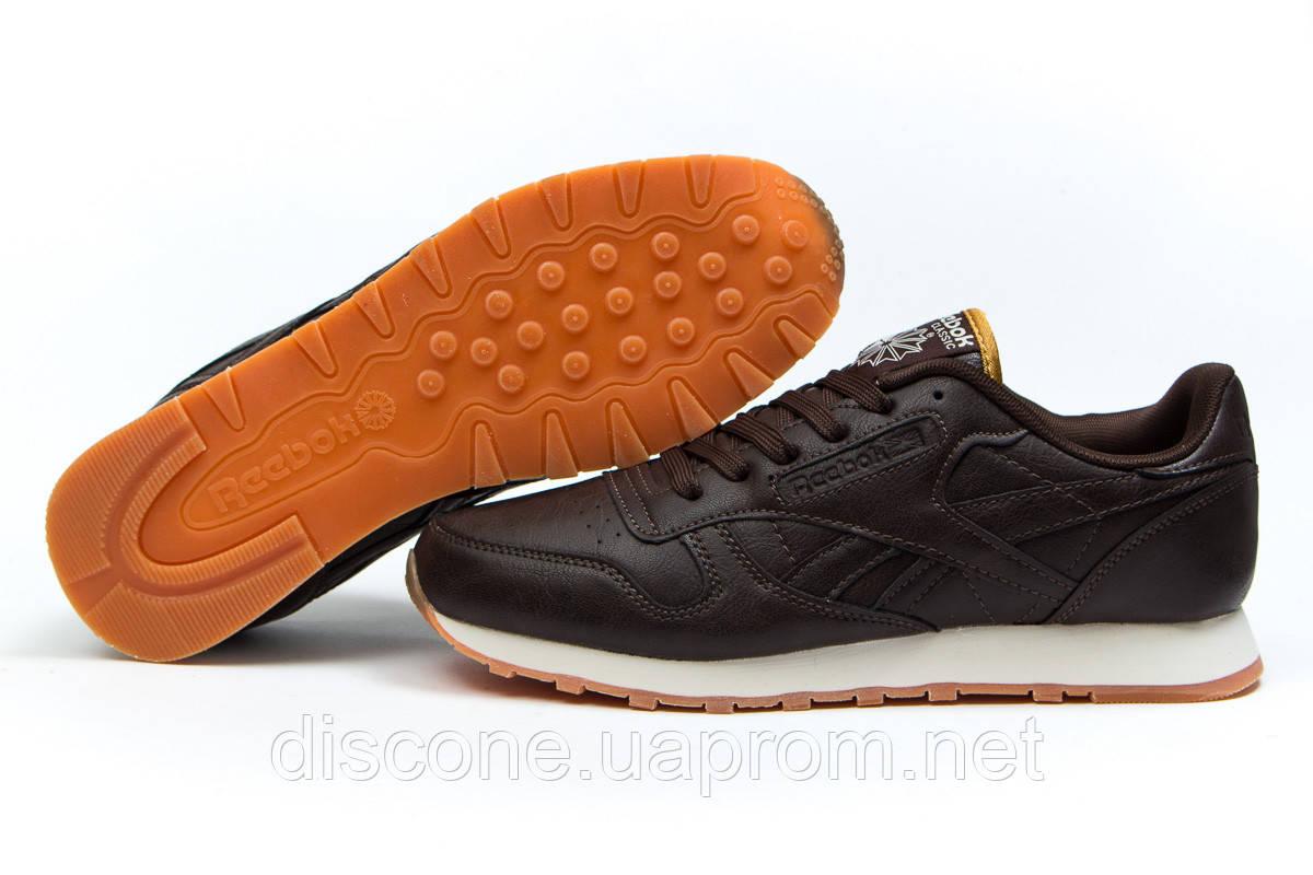 Кроссовки мужские ► Reebok Classic,  коричневые (Код: 14845) ► [  46 (последняя пара)  ] ✅Скидка 37%