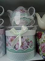 """Керамический чайный набор """"эгоист"""" в подарочной упаковке"""