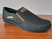 Туфли мужские черные удобные, фото 1