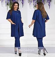 Женский брючный костюм / тонкий джинс / Украина 40-02279, фото 1
