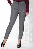 Жіночі молодіжні штани в гусячу лапку 42-50рр.