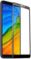 Защитное стекло T-PHOX для Xiaomi Redmi 5 Full Cover, Full Glue чёрное