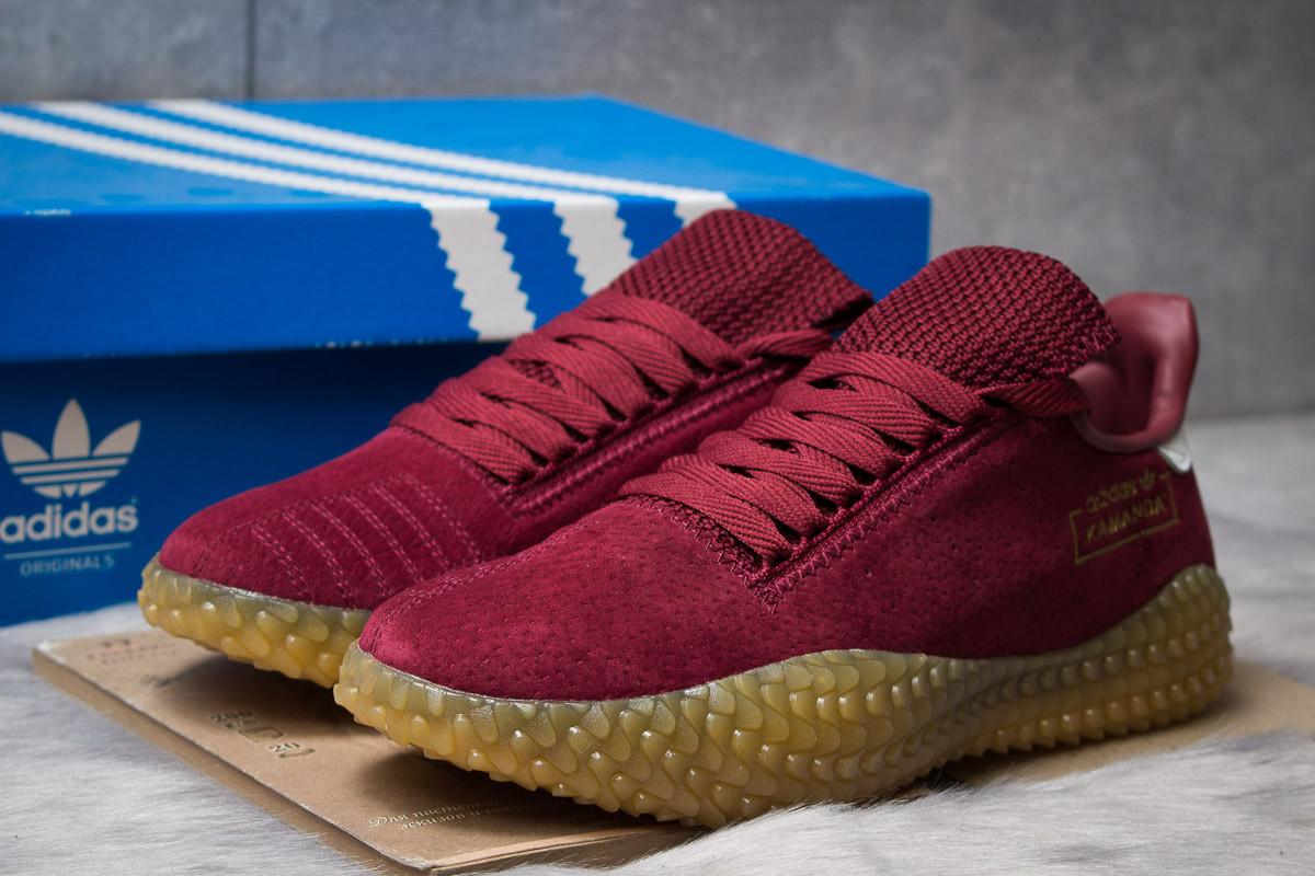 Кроссовки мужские Adidas Kamanda, бордовые (14864) размеры в наличии ► [  44 (последняя пара)  ]
