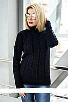 Вязанный красивый женский свитер NAV-0268