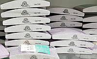 Упаковка пилок Global Fashion - серая, лодочка (24шт)