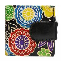 Женский кожаный кошелек SPG-98 Shanti Black, фото 1