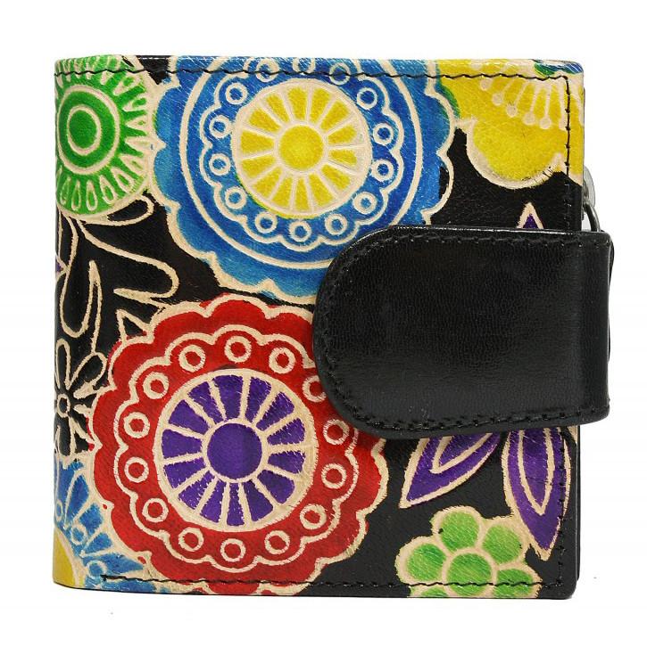 Женский кожаный кошелек SPG-98 Shanti Black