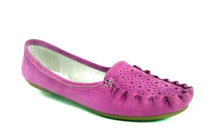 Мокасины замшевые женская обувь больших размеров Tesoruccio Violet by Rosso Avangard цвет фиолет