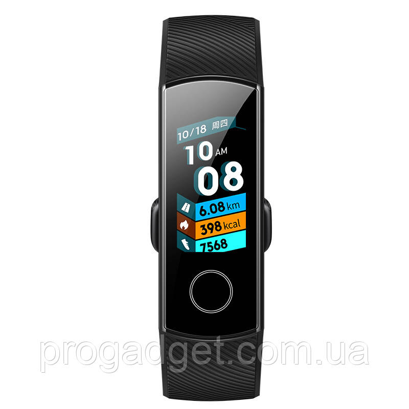 Huawei Honor Band 4 New фитнесс браслет трекер AMOLED Черный. Оригинал. Умный будильник.