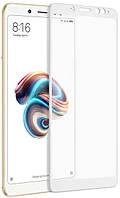 Защитное стекло T-PHOX для Xiaomi Redmi Note 5, Xiaomi Redmi Note 5 Pro Full Cover, Full Glue белое