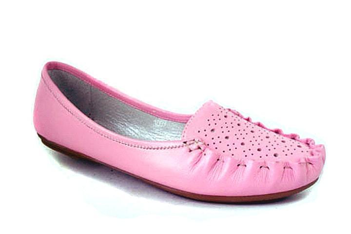 Мокасины кожаные женская обувь больших размеров Tesoruccio Violet Lether by Rosso Avangard цвет фиолет
