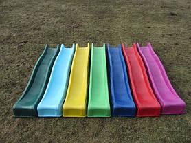 Горка для детской площадки 2,2 м KBT (Зеленая), фото 2
