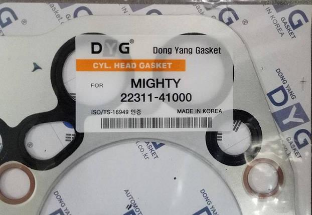 Прокладка головки блока цилиндров ГБЦ HYUNDAI HD65, HD72, БОГДАН А069 (D4AL=3.3L) 2231141000, фото 2