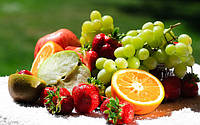 Постер с фруктами